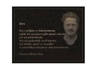 Nazım Hikmet'in Silivri'den Atatürk'e yazdığı mektup