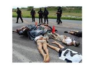 Meksika sınırında uyuşturucu savaşları