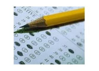 Sınav deyince… Amaç  ne ?