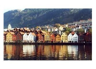 Norveç fiyortlarının arasındaki Bergen