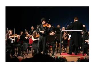 Paganini ve genç bir kemancı; Ediz Yaşlıçam