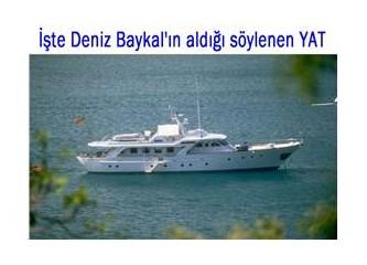 Deniz Baykal'ın yatı...