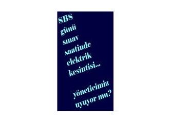 4 Haziran'da SBS günü Ankara'daki elektrik kesintisini nasıl açıklayacaklar?