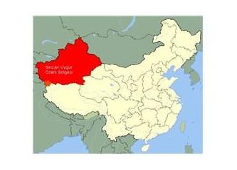 Çin'de Türk Katliamı