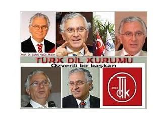 Türk Dil Kurumu Başkanlığına, Ankara