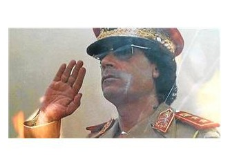 Kaddafi gitti