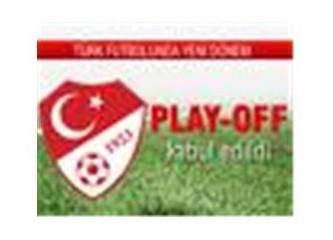 Federasyonun şike çözümü: 'play off''