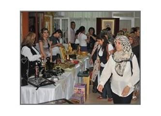 Mersin Akdeniz Belediyesi kursiyerlerinden yıl sonu sergisi...