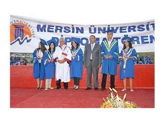 Mersin Üniversitesi 13. Mezuniyet Töreni görkemli geçti...