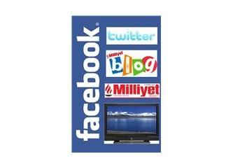 Facebook, Twitter, Blog, Gazete, Televizyon