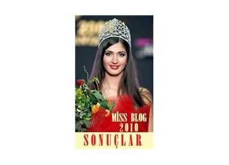 Miss Blog 2010 - Sonuçlar