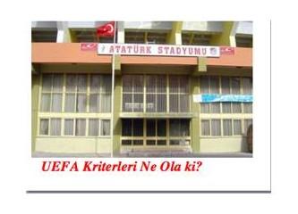 Atatürk Adı, Yıkılan Statlarda Tarih Oluyor!