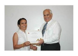 Mersin Üniversitesi'nden, proje sahiplerine ödül...