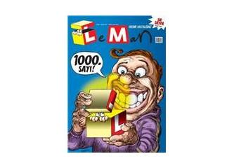 Leman 1000. sayısı çıktı!