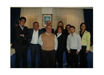 """İlhan Ürkmez'den, Mersin Linens çalışanlarına """"müşteri hizmetlerinde mükemmelliği"""" semineri."""