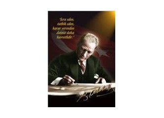 Atatürk'ün sanat ile ilgili sözleri