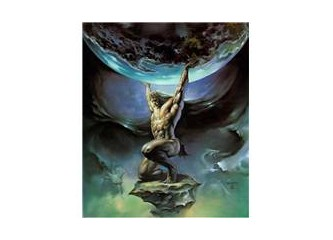 Mitolojide Atlas ve yükü