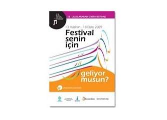 """Şimdi İzmir zamanı """"23.Uluslararası İzmir Festivali"""""""