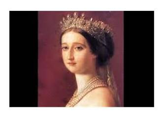 Sultan Abdülaziz ve Fransa Kraliçesi Eugenie
