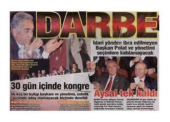 Bu entrikalar, Galatasaray'a hiç yakışmadı beyler!..
