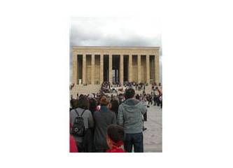 Cumhuriyet Bayramı'nda Anıtkabir'de