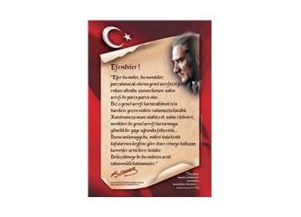 Atatürk'ün milliyetçilik ilkesi, milli birlik ve beraberliğimizin temel taşıdır!!