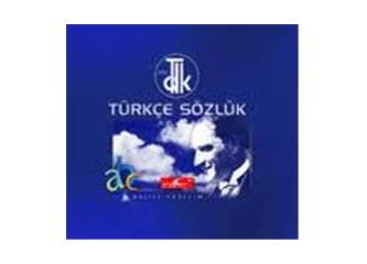 TDK'nun yabancı kelimelere bulduğu Türkçe karşılıklar...