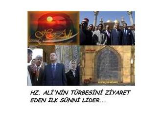 Bir Sünni Lider'in Hz Ali'nin Türbesini ziyareti …