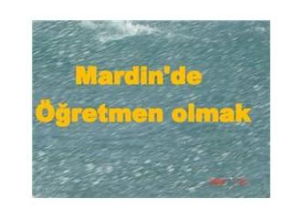 Mardin'de öğretmen olmak (Anılar)