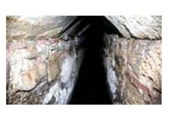 Arkeologları heyecanlandıran tünel!