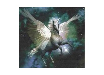 Asil, ve güzel Unicorn