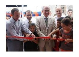 Mersin'in, ikinci ücretsiz internet evi Mezitli'de açıldı...