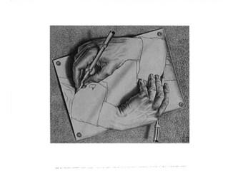 Escher, insanın bilincini perişan eder, deşer; bu işe hakikaten şaşırır beşer! Esher yazıları - 2
