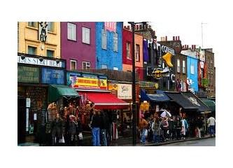 Camden Town - Londra eğlencenin ve alışverişin kalbi