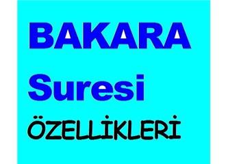 Bakara Suresi'nin özellikleri