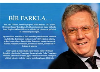 Fanatik bir GS'lı haykırıyor: Ey büyük başkan Aziz Yıldırım, hakkını helâl et, gıybet yaptım, affet!