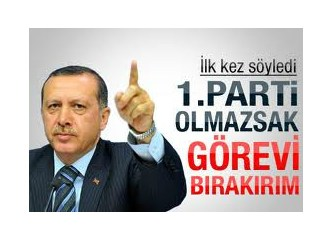 Başbakan Recep Tayyip Erdoğan'a kızmak…