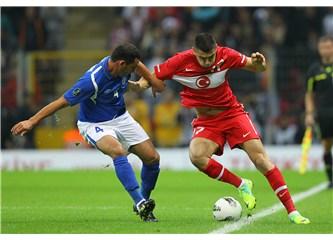 """Gruptan """"sonunda"""" çıkabildik! Türkiye 1-0 Azerbaycan"""