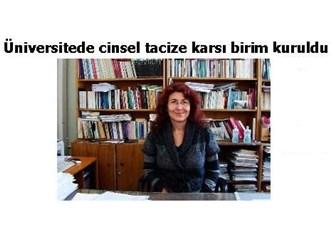 Üniversitelerde cinsel tacize karşı ilk birim Ankara Üniversitesi'nde kuruldu