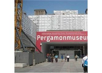Berlin'de sergilenen Bergama Müzesi…