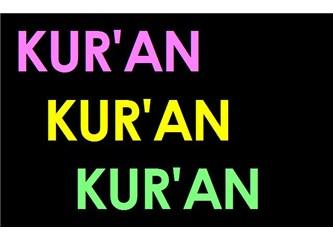 Kur'an sure ve ayetleri ile sure isimlerinin anlamları