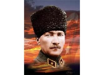 Köy odasında Mustafa Kemal
