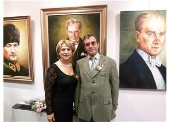 Bedia Bıçakçı'dan Atatürk resimleri ...