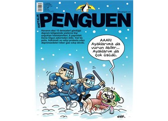 Penguen Dergisi Van depremini bakın nasıl görmüş