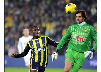 Fenerbahçe-Eskişehirspor: 1 - 0 (Zor da olsa 3 puan)