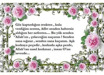 Necip Fazıl Kısakürek'ten Allah sevgisi üzerine şahane bir şiir...