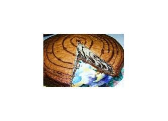 Zebra desenli kek tarifi