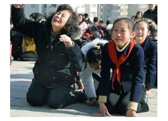 Kim Jong İl öldü, ağlamayana ceza var!