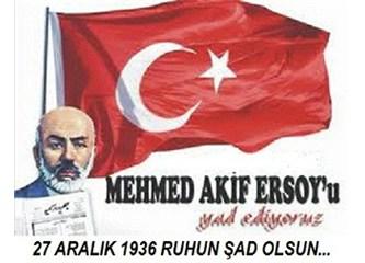 Mehmet Akif Ersoy (Vefa'nun İstanbul'da bir semt adı olduğunun belgesi) 27 Aralık 1936