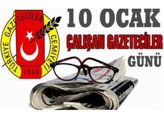 Liderlerin 10 Ocak çalışan gazeteciler günü mesajları ve bir emsal
